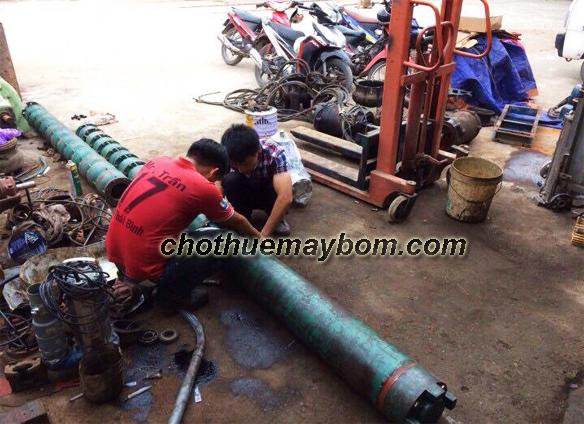 Bật mí đơn vị cho thuê máy bơm hỏa tiễn uy tín, giá rẻ nhất tại Hà Nội