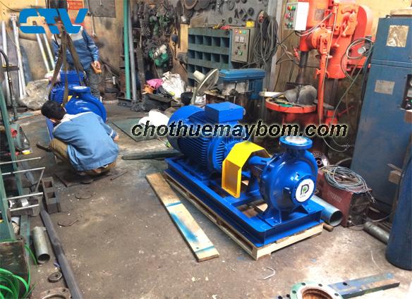 Địa chỉ cho thuê máy bơm công suất lớn giá tốt tại Hà Nội