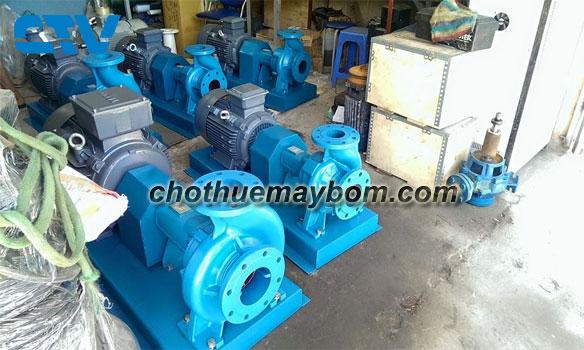 Cho thuê máy bơm nước công suất lớn uy tín, giá rẻ
