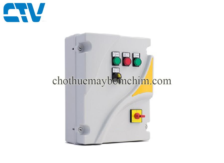 Lắp đặt tủ điện máy bơm Stac Italy