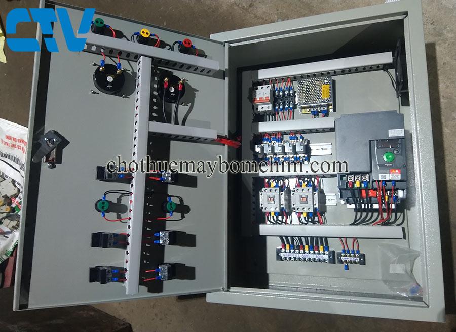 Tủ điện điều khiển máy bơm, hệ thống máy bơm cấp nước sinh hoạt