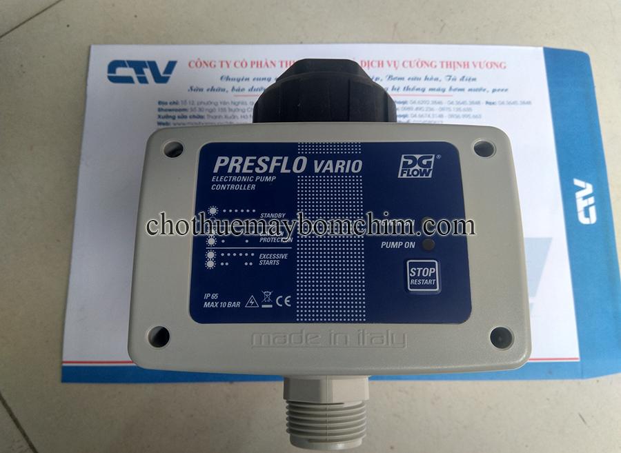 Công tắc áp điện tử - Rơ le dòng chảy Presflo Vario
